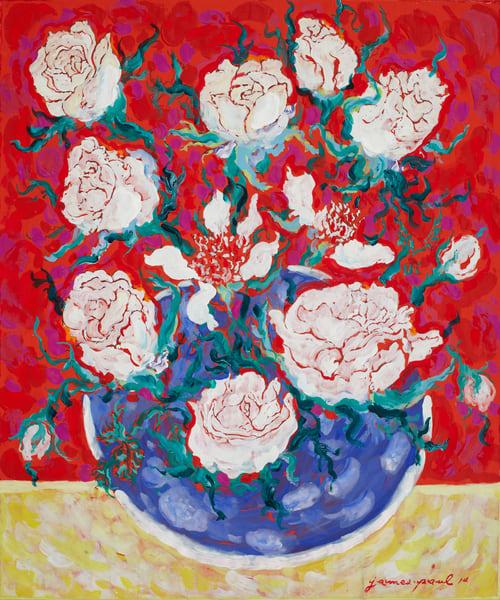 Roses De L Amour Art | Artiste Winery & Tasting Studio