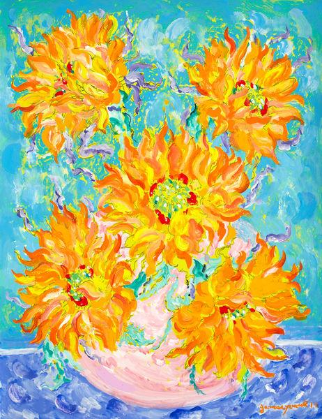 Sunflowers Art   Artiste Winery & Tasting Studio