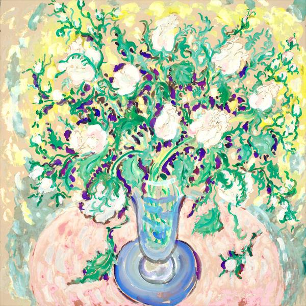 The Blue Vase Art by ArtisteART.com