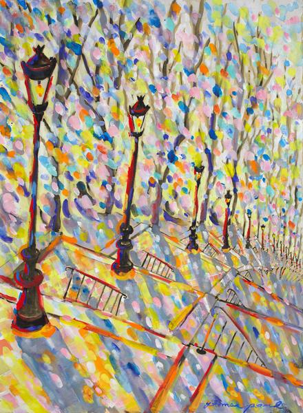 The Steps In Montmartre Art | Artiste Winery & Tasting Studio