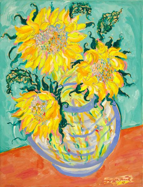 Three Sunflowers Art   Artiste Winery & Tasting Studio