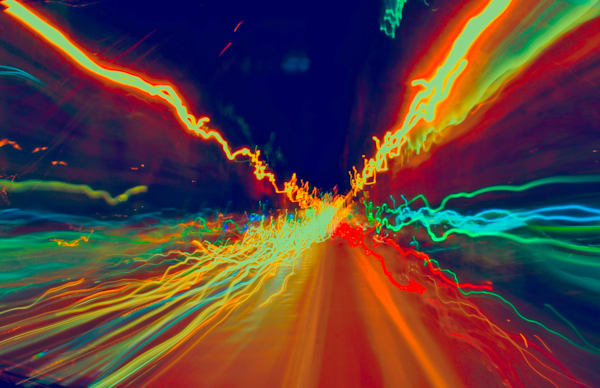 Trails Aboard A Bus|Fine Art Photography by Todd Breitling|Graffiti and Street Photography|Todd Breitling Art