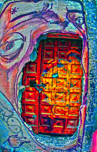 Door Mouth|Fine Art Photography by Todd Breitling|Graffiti and Street Photography|Todd Breitling Art