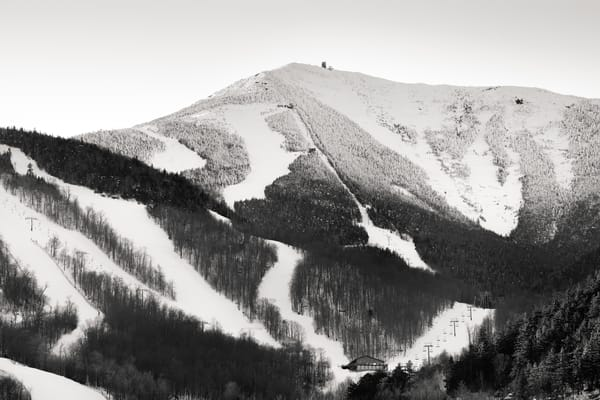Lake Placid whiteface BW