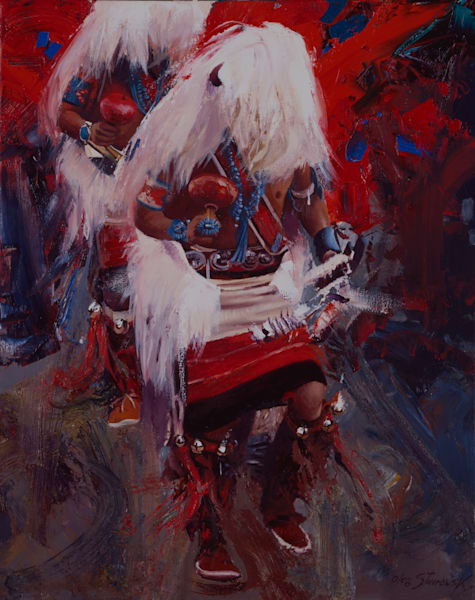 Indian Dancers Art | Lesa Delisi, Fine Arts