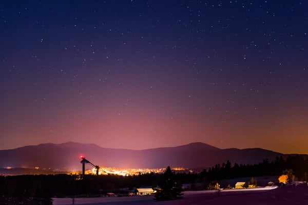 Lake placid Winter Nights