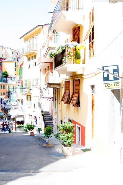 Art photography of Manarola, Cliff-side Shops DSC_5471 Manarola, Italy, Cinque Terre