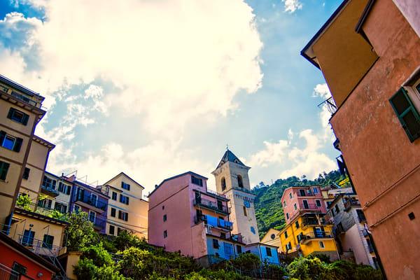 Art photography of Italy, DSC_5471 Manarola, Italy, Cinque Terre