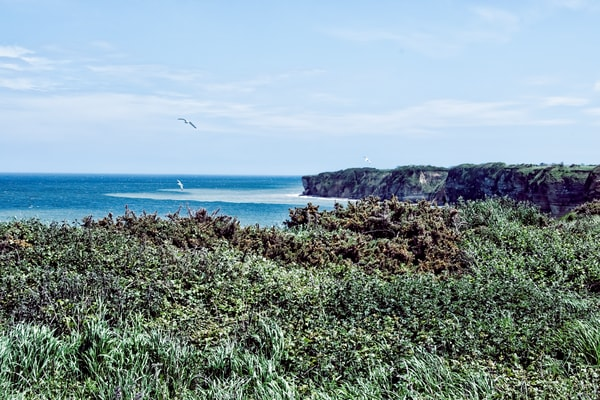 Pointe du Hoc, Beaches of Normandy WWII