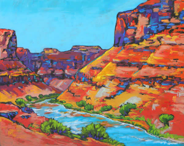 Moab Bliss Art | Sally C. Evans Fine Art