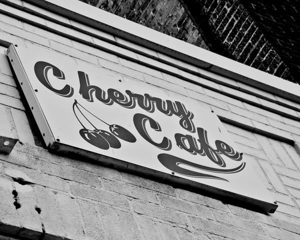 The Cherry Cafe Art | Artist David Wilson