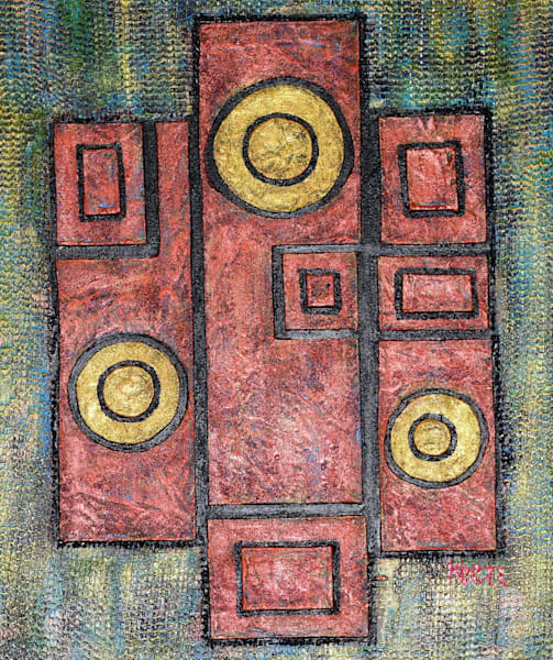 Finding The Right Fit by Sheryl Keen | SavvyArt Market original painting