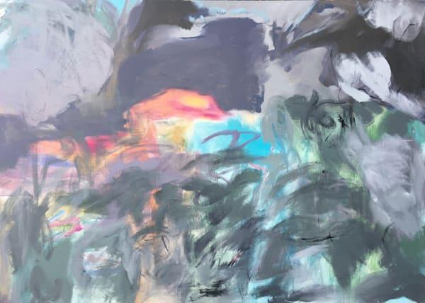 Gray Night Original Painting