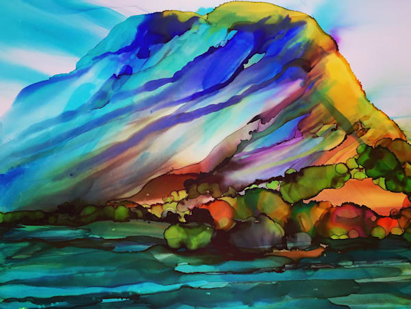 Purple Mountain Majesty Art | Amy Tigner Art