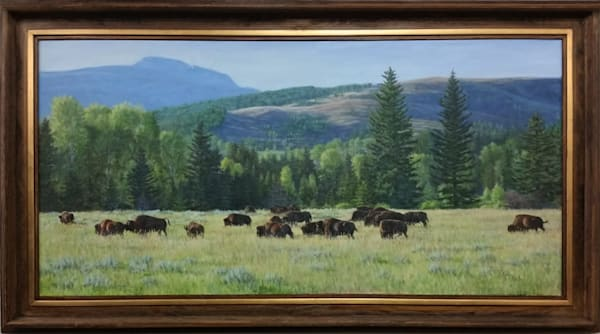 Bison Gathering - SOLD