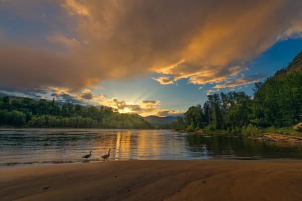 Gyro Park Sunset Photography Art | Kokanee Camera and Nelson Fine Art Printing