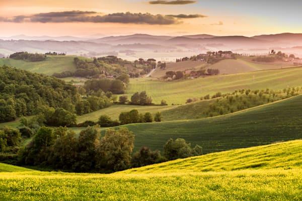 Tuscan Sunset Photography Art | Patrick O'Toole Photography, LLC