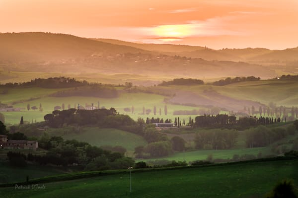 Tuscan Dawn Photography Art | Patrick O'Toole Photography, LLC