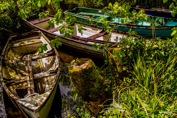 Three Boats Photography Art by otoolephoto