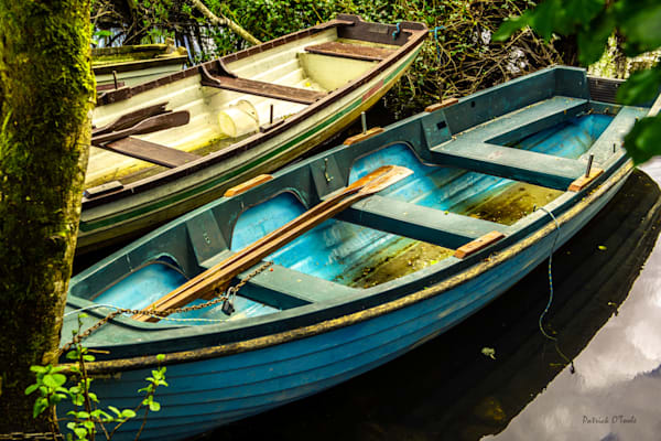 Two Boats Photography Art by otoolephoto