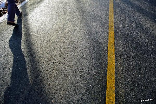 Road After Rain Print