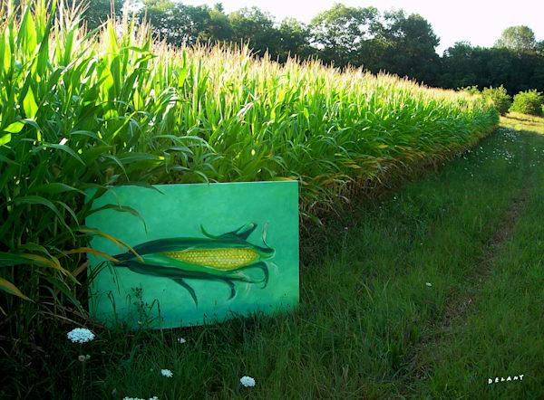 Corn Before Corn Print