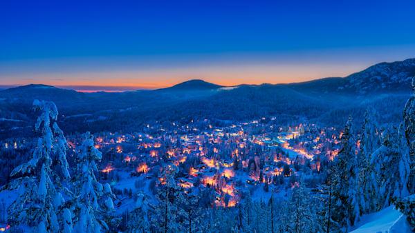 Winter Evening From Kc Art | Nelson Fine Art Printing