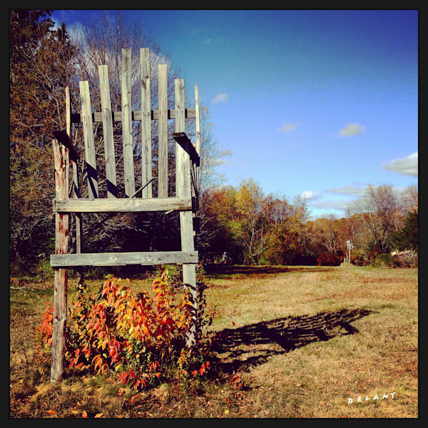 Foster Chair Instagram print by George Delany