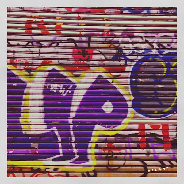 Brooklyn Door Graffiti Art Print