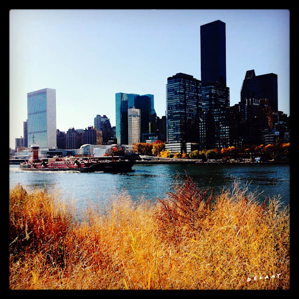Roosevelt to Manhattan Skyline Instagram Print, Click!