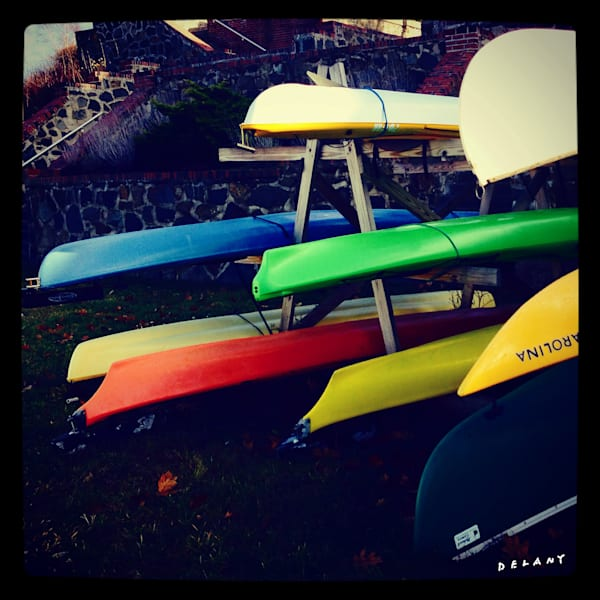 Kayaks Ready, Photo Print