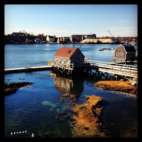 Portsmouth NH River View Instagram Print