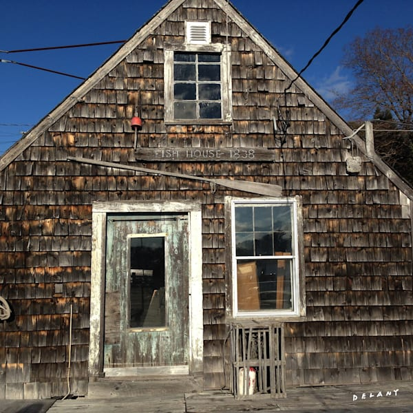 Fish House Art Print by George Delany, click!