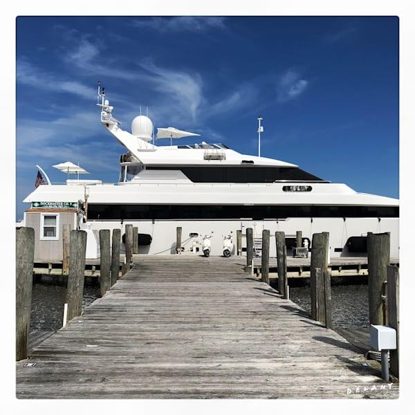 Watch Hill Yacht Instagram Print
