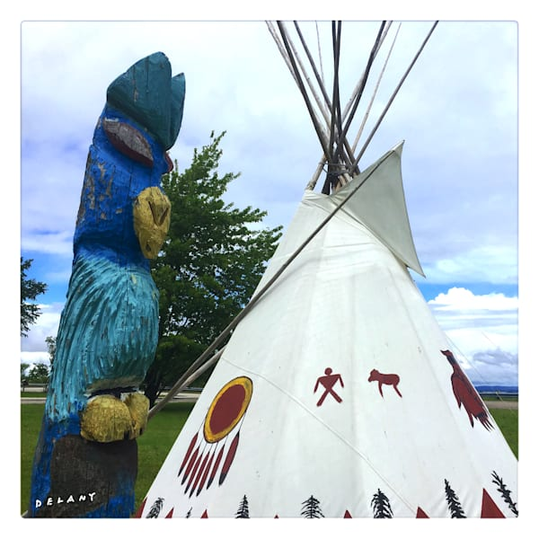 Ojibwe Teepee Instagram Photo
