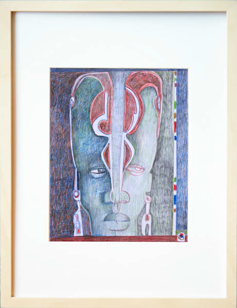 African Drawing-Shades of Africa 04