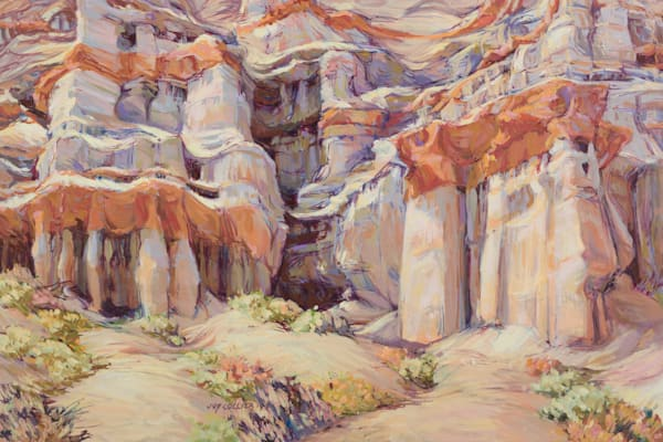 Red Rock Canyon 3 Art | Joy Collier's California Landscape Art