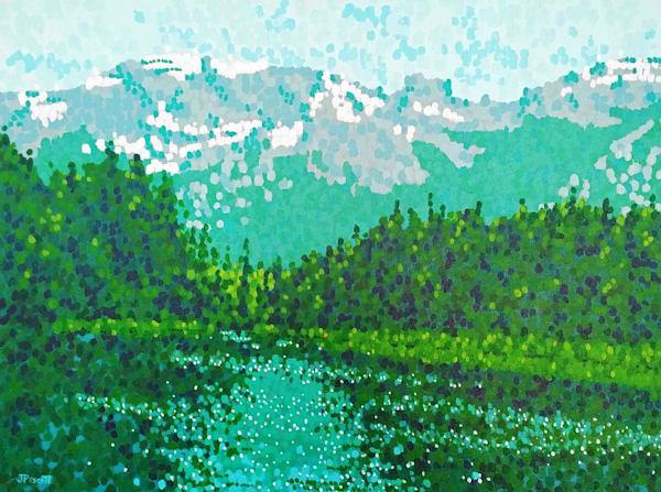 Along The Bow - Banff