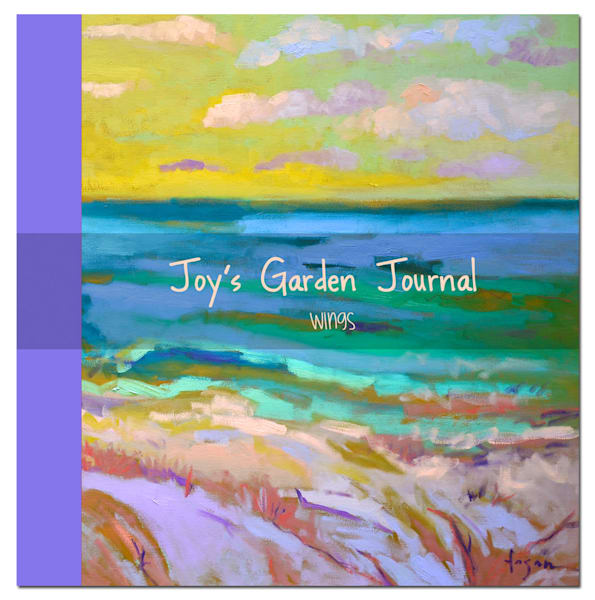 Illustrated Blank Journal, Wings Joy's Garden by Dorothy Fagan