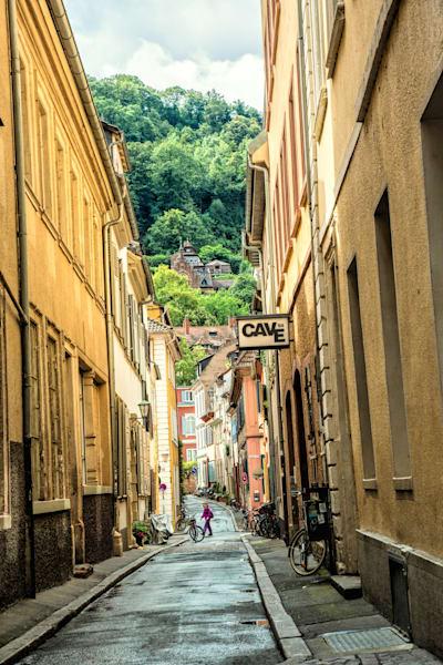Heidelberg alleyway