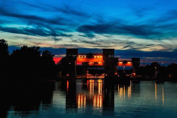 The Rhine River Locks