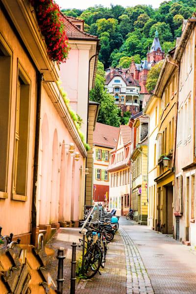 Historic alleyways of Heidelberg