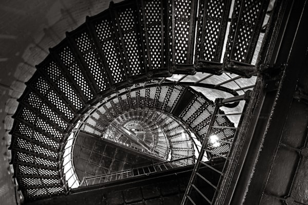hunting island staircase