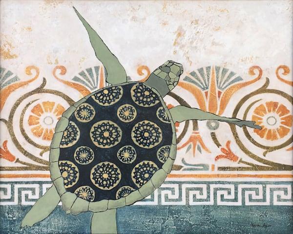 Lucy's Turtle  Art | Lesa Delisi, Fine Arts