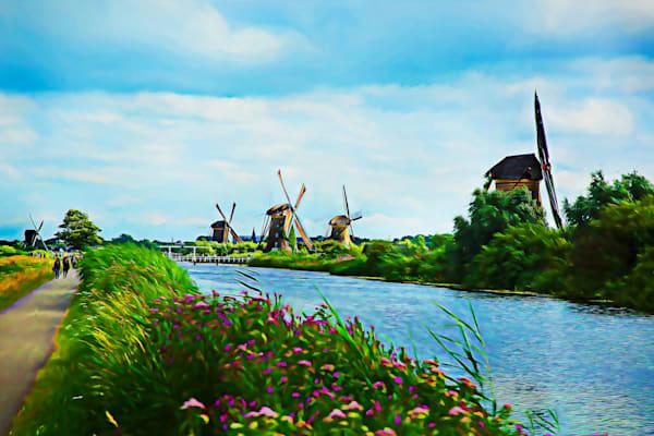 The Dutch Windmills Photography Art | Peter J Schnabel Photography LLC