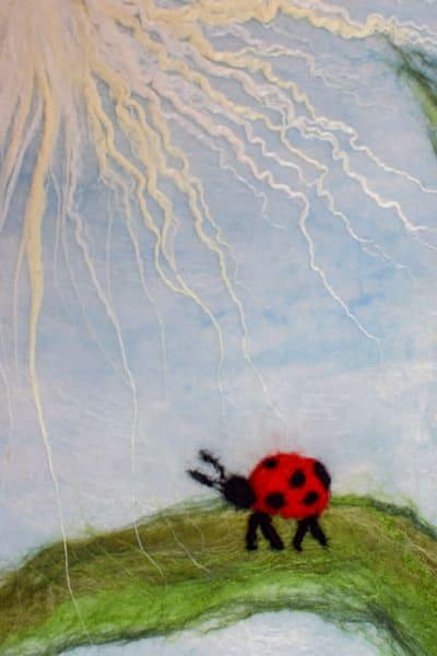 Dandelion Ladybug