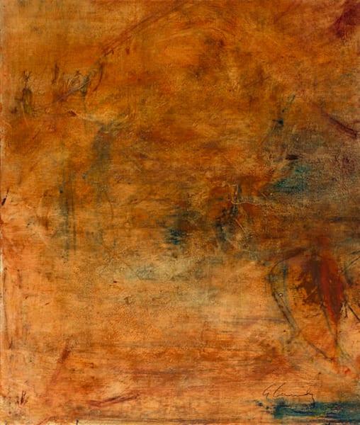 Persimmon I Art | Amy Cannady Studio