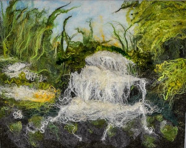 Wild Water In Spring Art | FeltinArt