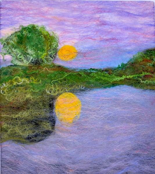 Mystic Lilac Art | FeltinArt