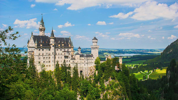 Neuschwanstein Castle Photography Art | Peter J Schnabel Photography LLC